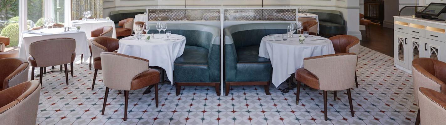 Bespoke luxury restaurant upholstered furniture